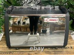 La Cimbali M100 2 Groupe Black Espresso Coffee Machine Commercial Wholesale Cafe