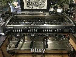 La Cimbali M39 Dosatron Hd 3 Groupe Black Espresso Coffee Machine Maker Commercial