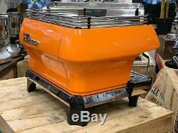 La Marzocco Fb80 2 Groupe Orange Espresso Machine À Café Café Barista Commercial