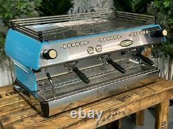 La Marzocco Fb80 3 Groupe Baby Blue Espresso Coffee Machine Commercial Cafe Bar