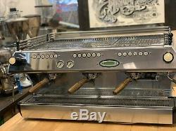 La Marzocco Fb80 3 Groupe Blanc Espresso Machine À Café Café Commercial Accueil