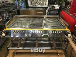 La Marzocco Fb80 3 Groupe Jaune Machine À Café Espresso Restaurant Cafe Latte