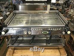 La Marzocco Fb80 3 Groupe Matte Black Espresso Machine À Café Restaurant Cup Cafe
