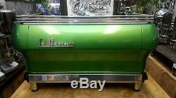 La Marzocco Fb80 3 Groupe Vert Espresso Machine À Café Restaurant Cafe Latte Cup