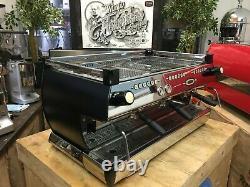 La Marzocco Gb5 3 Groupe Matte Black Espresso Coffee Machine Cafe Restaurant