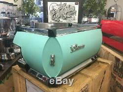 La Marzocco Gb5 3 Groupe Matte Canard Egg Bleu Espresso Machine À Café Café Barista