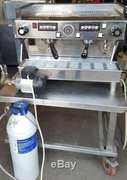 La Marzocco Linea 2 Groupe Espresso Machine À Café Avec Pompe / Filtre Et Poignées