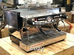 La Marzocco Linea Classic 2 Groupe Espresso Machine À Café Commercial Cafe Panier