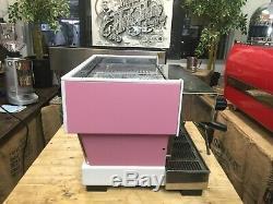 La Marzocco Linea Classic 2 Groupe Personnalisé Rose Espresso Machine À Café De Commerce