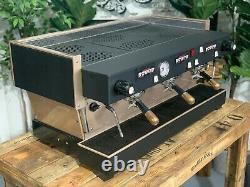 La Marzocco Linea Classic 3 Groupe Black And Rose Gold Espresso Coffee Machine