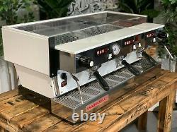 La Marzocco Linea Classique Av 3 Groupe Blanc Espresso Machine À Café Chrono Touchp