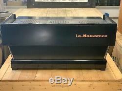 La Marzocco Linea Classique Noir Mat 3 Groupe Espresso Machine À Café De Commerce