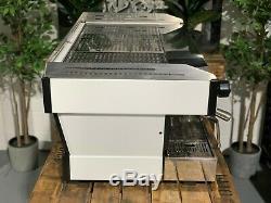 La Marzocco Linea Pb 3 Poignées Groupe Blanc Argent Espresso Machine À Café Sur Mesure