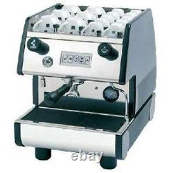 La Pavoni Commercial Espresso Machine Maker Pub 1v-b Black, 1 Groupe, Volumetric