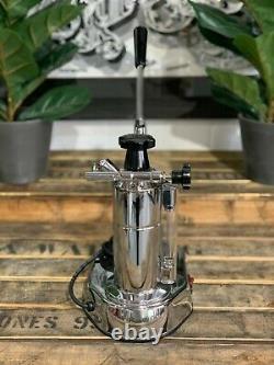 La Pavoni Europiccola 1 Group Chrome Brand New Espresso Coffee Machine Accueil