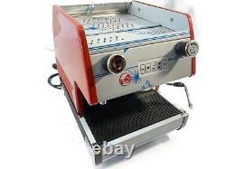 La Pavoni Pub 1v-r Group Volumetric Espresso Machine Italie Nouveau Navire Rapide Gratuit