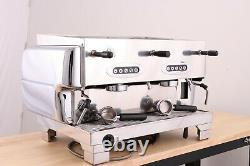 La San Marco 80e 2 Groupe Commercial Espresso Coffee Machine (chrome)
