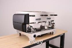 La San Marco 80e 2 Groupe Commercial Espresso Coffee Machine (matte Black)