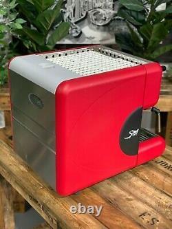 La San Marco 85 Flexa E 1 Groupe Red Espresso Coffee Machine Commercial Home Bar