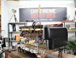 La San Marco Duale Classe 2 Groupe Commercial Machine À Café Espresso