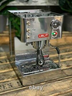 Lelit Anna Pl41lem 1 Groupe Nouvelle Marque En Acier Inoxydable Espresso Machine À Café Bar