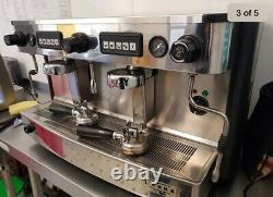 Machine À Café Espresso Commerciale 2 Groupe Entièrement Auto Iberital L'anna