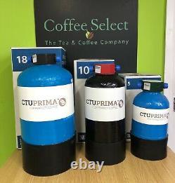 New Iberital Ib7 2 Groupe Compact Espresso Machine En Red Ou Black £1999+tva