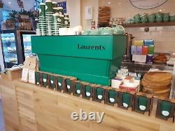 New La Marzocco Linea 2 Groupe Av Espresso Machine À Café En Blanc