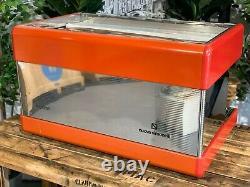 Nuova Simonelli Programme Semi Automatic 2 Groupe Red Espresso Coffee Machine Cafe