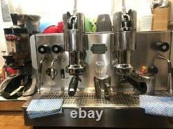Palanca 2 Groupe Machine À Café Argent