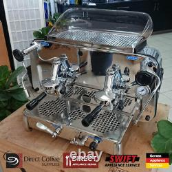 Près De Nouveau Faema E61 Légende 2 Groupes Machine À Café Commerciale