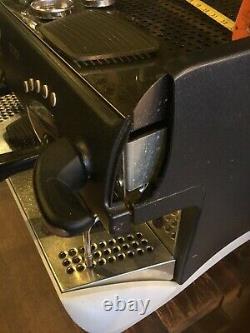 Rancilio 2 Groupe Espresso Coffee Machine. Desservi Chaque Année