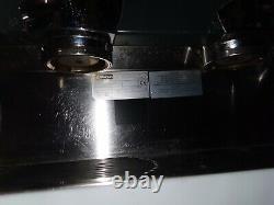 Rancilio 2 Groupes Commercial Espresso/cappuccino Machine À Café Avec Boîte À Café