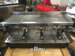 Rancilio Classe 6 3 Groupe Gris Espresso Machine À Café De Commerce En Gros Café