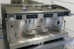 Rancilio Classe 7 Espresso Machine À Café 3 Groupes