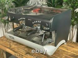 Rancilio Epoca 2 Groupe Black And Grey Espresso Machine À Café Commercial Barista