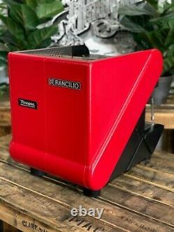 Rancilio S26 1 Groupe Red Semi Automatique Espresso Machine À Café Commercial Home