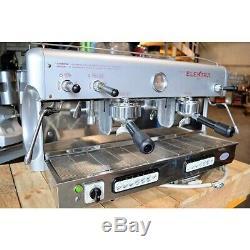 Remis À Neuf 2 Groupe Elektra Espresso Machine À Café Avec Garantie