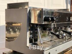 Remis À Neuf Double Carburant Gpl Wega 3 Groupe Espresso Machine À Café 6 Mois De Garantie