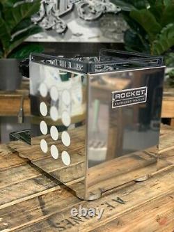 Rocket Appartamento 1 Groupe Marque Nouvelle Machine À Café Espresso Blanc Inoxydable