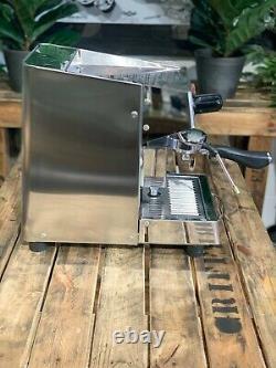Royal Junior Semi-automatique 1 Groupe En Acier Inoxydable Espresso Machine À Café Vente