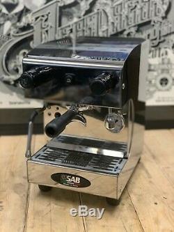 Sab Maika 1 Groupe Brand New Espresso Machine À Café Semi-automatique Inoxydable