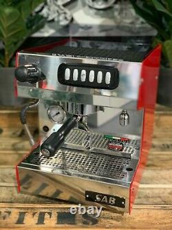 Sab Nobel 1 Groupe Red Tank Ou Plumbed Espresso Coffee Machine Commercial Home