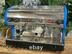 San Marino Lisa 2 Groupe Bleu Semi Automatique Espresso Machine À Café Commercial