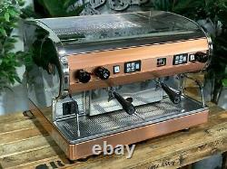 San Marino Lisa 2 Groupe Brass Stainless Espresso Machine À Café Commercial Cafe