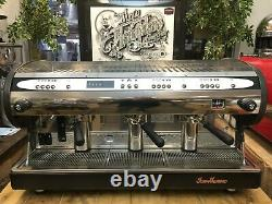 San Marino Lisa R 3 Groupe Dark Grey Espresso Coffee Machine Commercial Cafe Bean