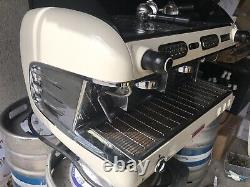San Remo Verona 2 Groupe Blanc Espresso Machine À Café Commercial