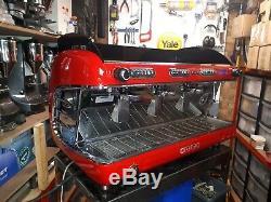 San Remo Verona 3 Groupes Machine À Café Espresso