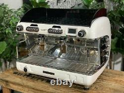 San Remo Verona Rs High Cup 2 Groupe White Espresso Coffee Machine Commercial
