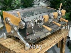 Slayer Espresso 3 Groupe Timber Espresso Machine À Café Commercial Café En Gros
